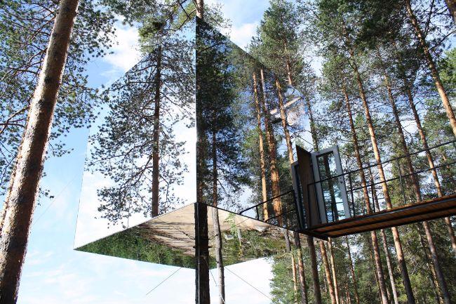 tree hotel Harads, Zweden