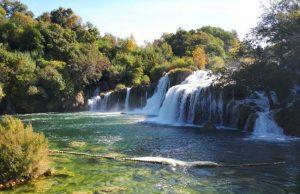 Bezoek de Krka watervallen in Kroatië