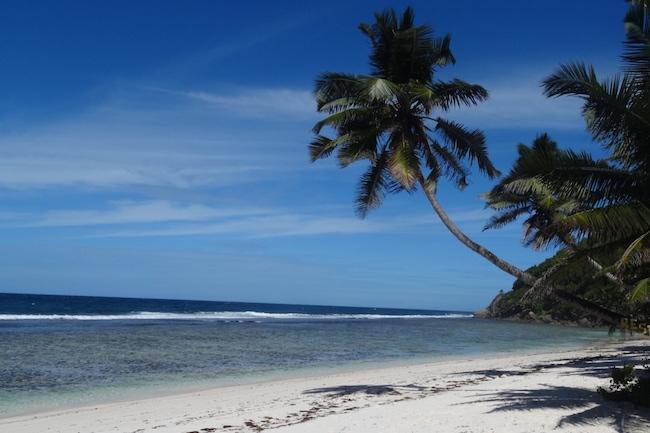 Mooie stranden van de Seychellen