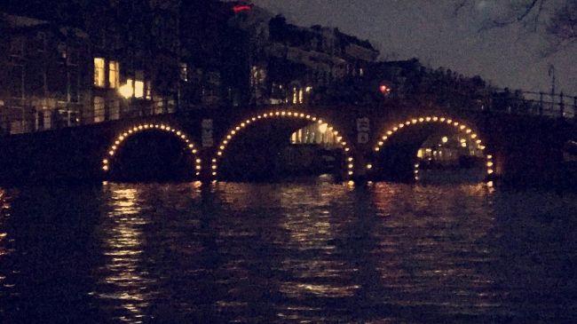Amsterdam Light Festival verlichte grachten