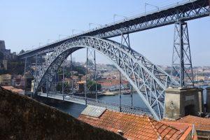 Kleurrijke stad van Portugal
