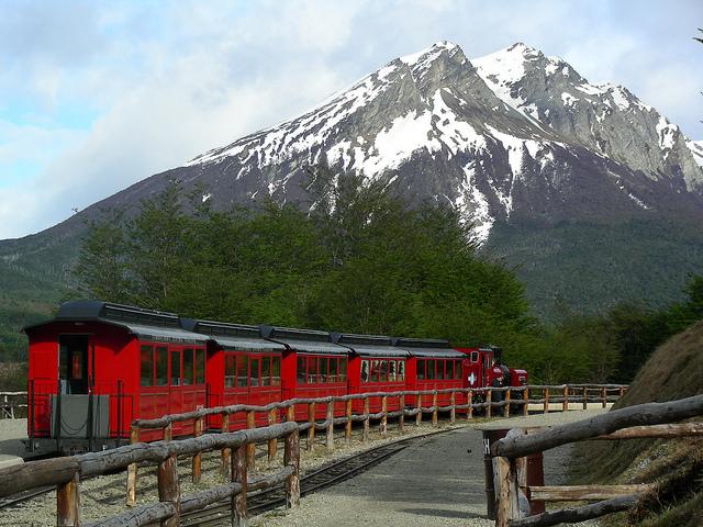 Argentinie Treinreis