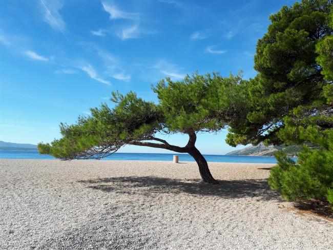 Verover een plekje op het strand van Zlatni Rat
