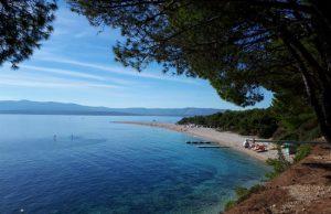 Bezoek paradijselijk strand Zlatni-Rat
