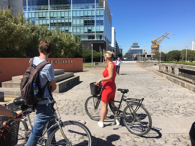 Fietstour door Buenos Aires met een Nederlandse gids van Ontdek Buenos Aires