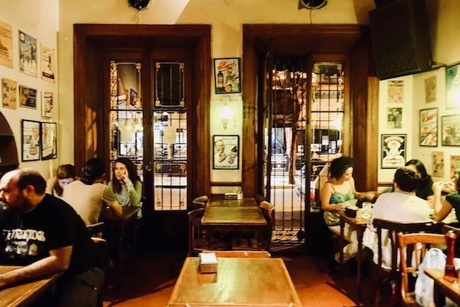 Hotspots in Buenos Aires: Bar el Federal