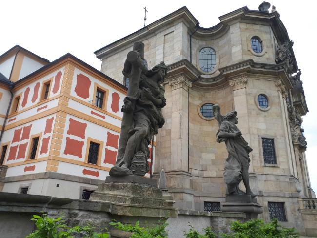 Het barokke Hospitál Kuks