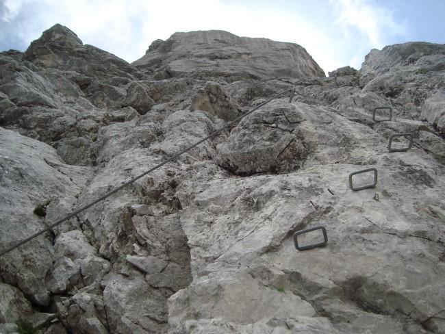 Volg een klettersteigroute