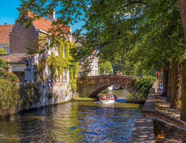 Burgersbars in Brugge, België