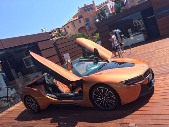 Luxe auto's Porto Cervo Sardinië