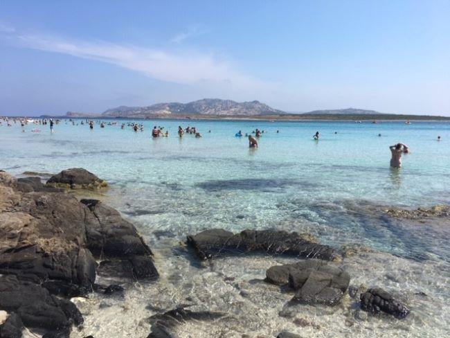 Spiaggia della Pelosa Stintino Sardinië