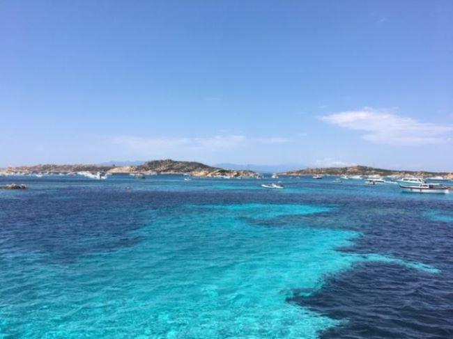 Uitzicht Sardinië