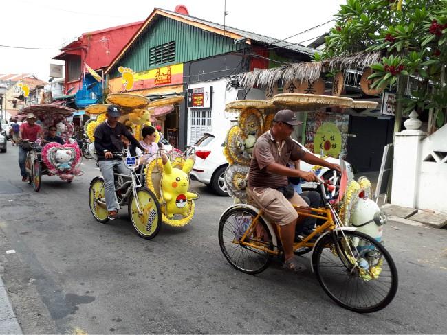Maak een riksja rit door Malakka