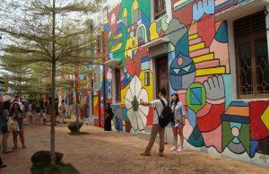 Bewonder street art in Malakka