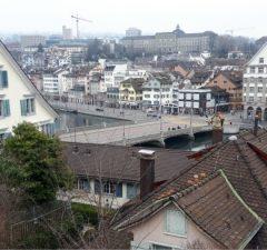 Uitzicht over Zürich